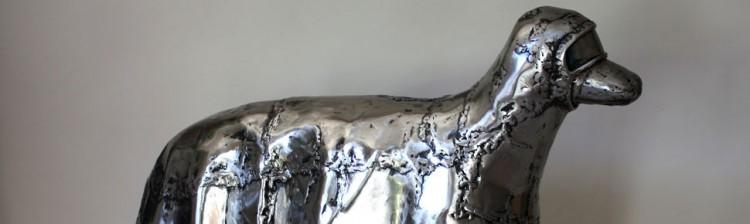steel sculpture by finley fryer