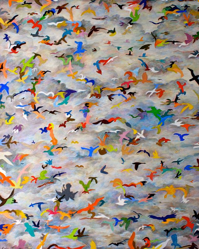 Wildlife Refuge, oil on canvas, 48 x 60, 2014